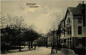 CPA GRONINGEN Emmaplein NETHERLANDS (604256)