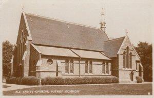 RP: PUTNEY COMMON  , England , 1937 ; Saint's Church