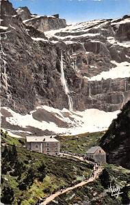 France Gavarnie L'Hotel du Cirque et la Grande Cascade Waterfall