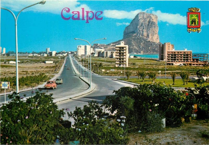 Spain Calpe Penon Rock