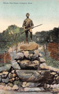 B41405 Minute Man Statue Lexington Mass   usa