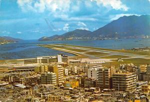 China, People's Republic of China Kai Tak Airport, Lyemoon Pass  Kai Tak Airp...