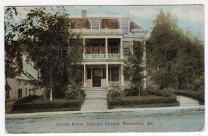 Waterville, Me, Parish Home, Catholic Church