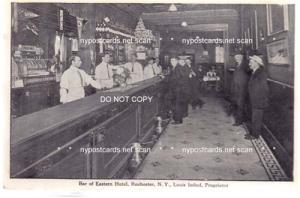 Interior, Bar of Eastman Hotel, Rochester NY