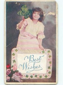 Divided-Back PRETTY WOMAN Risque Interest Postcard AA8065