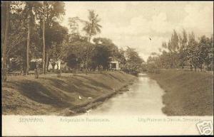 indonesia, JAVA SEMARANG, Kali View at Randoesarie 1899