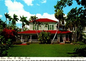 Florida Fort Myers The Edison Home