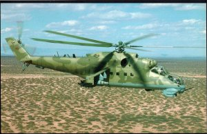 The Russian Assault Transport - Gunship Mi-24 Hind Attack Helicopter 1950s-1970s