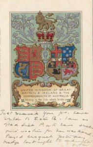 Coat of Arms , UK , 1903