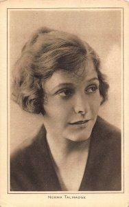 Norma Talmadge Pictures Portrait Gallery Film Star Postcard