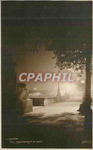 Old Postcard London at Night