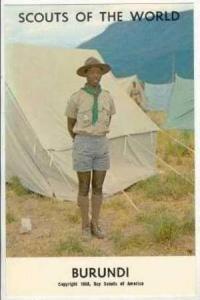 Boy Scouts of the World, BURUNDI SCOUTS, 1968