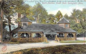 Massachusetts  Springfield, Rustic Pavilion, Forest Park