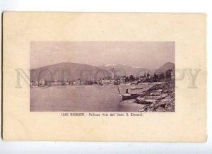 129756 Italy LAGO MAGGIORE Lake Pallanza vista dall'Isola OLD