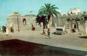 Morocco Tanger Kasbah Square Car Street Postcard