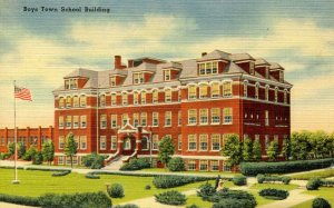 NE - Boys Town. School Building