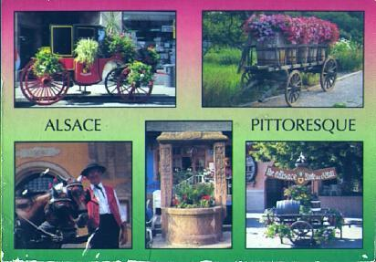 POSTAL 57554: Alsace Pittoresque