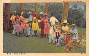 A Folkloric Dance Haiti Unused