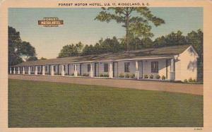 South Carolina Ridgeland Forest Motor Hotel