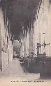 Eglise St-Aignan - Nef Laterale Sud, Orleans (Loiret), France, 1900-1910s