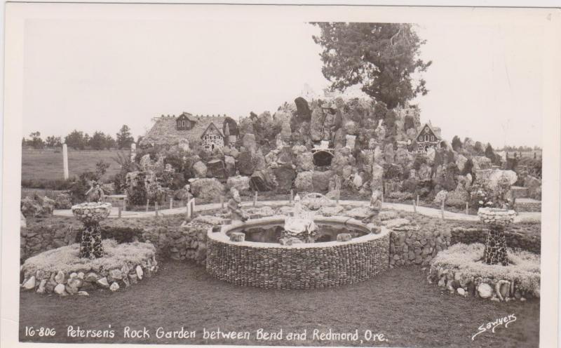RP, Petersen´s Rock Garden Between Bend & Redmond, Oregon, 1940-50s Sawyers (3)
