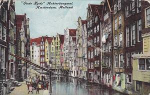 Amsterdam , Netherlands, PU-1910 ; Oude Lyds Achterburgwal
