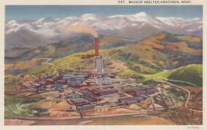 ANACONDA , Montana , 1930-40s ; Washoe smelter
