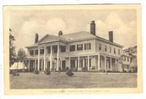 Government House, Charlottetown, Prince Edward Island, Canada, PU-1944