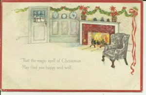That the Magic Spell of Christmas May Find You Happy and Well