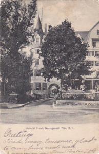 NARRAGANSETT PIER, Rhode Island, PU-1904; Imperial Hotel