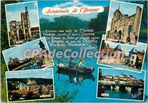 Postcard Modern Yonne Remembrance