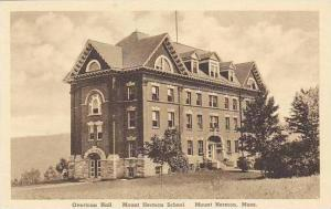 Massachusetts Mount Herman School The Overtoun Hall Albertype
