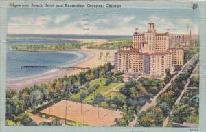 Illinois Chicago Edgewater Beach Hotel And Recreation Grounds 1946