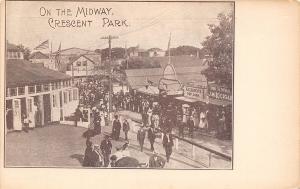 East Providence RI Carousel~Anderson Popcorn Stand~Crescent Amusement Park 1906