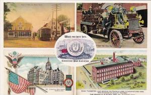 Connecticut Hamden Official Postcard Of The Connecticut Postcard Club