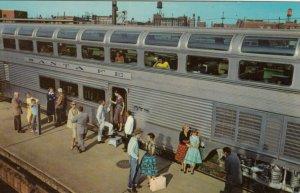Hi-Level Dome Car of the SANTE FE EL CAPITAN Train, 1940-60s