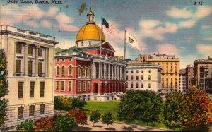 Massachusetts Boston State House 1958