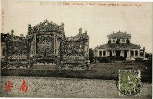 VIETNAM INDOCHINE - Annam - Hue - Ecran devant le Palais du Comat (190179)
