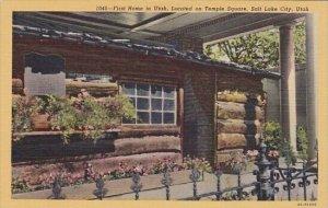 First Home In Utah Located On Temple Square Salt Lake City Utah