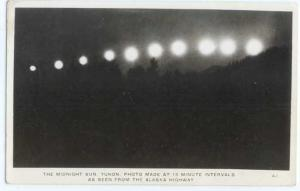 RP 15 Minute Intervals of Midnight Sun Alaska Highway AK