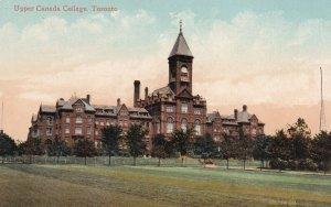 TORONTO, Ontario, Canada, 1900-1910s; Upper Canada College