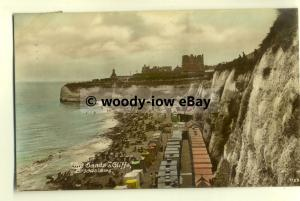 tp8155 - Kent - The Sands and Cliffs at Broadstairs back in 1922 - Postcard