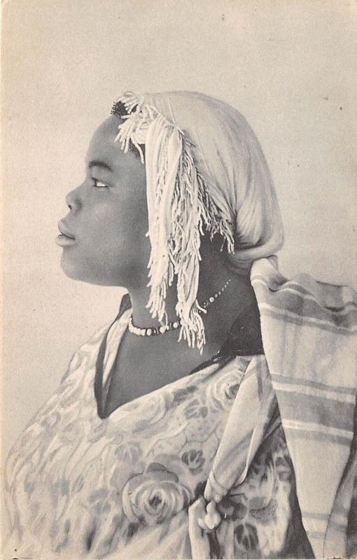 B84825 venere sudanese  types folklore woman  libia lybia