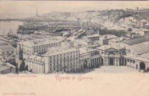 Italy Genova Stazione di piazza Principe