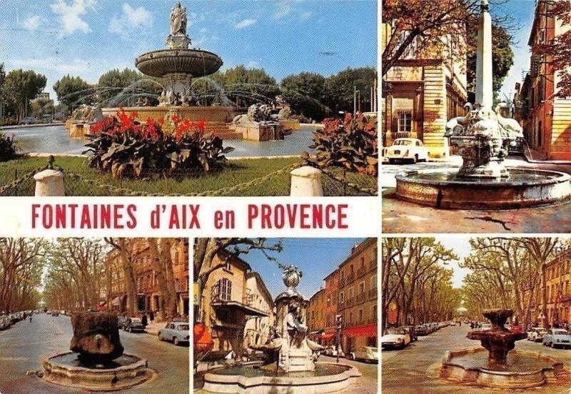France La Cite du Roy Rene, Aix en Provence Fontaines Auto Cars Fountains