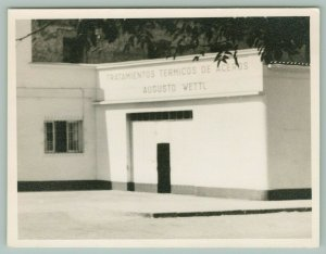 Tratamientos Termicos De Aceros~Art Deco Steel Treatment Plant~Photograph 1930s