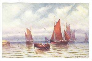 AS: J. Eaman, Off Brighton, Sailing Vessels, 1900-1910s