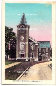 Methodist Church, Lowville NY