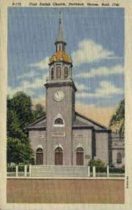 First Parish Church Portland ME Unused