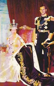 Her Majesty Queen Elizabeth II and Prince Phillip Duke of Edinburgh